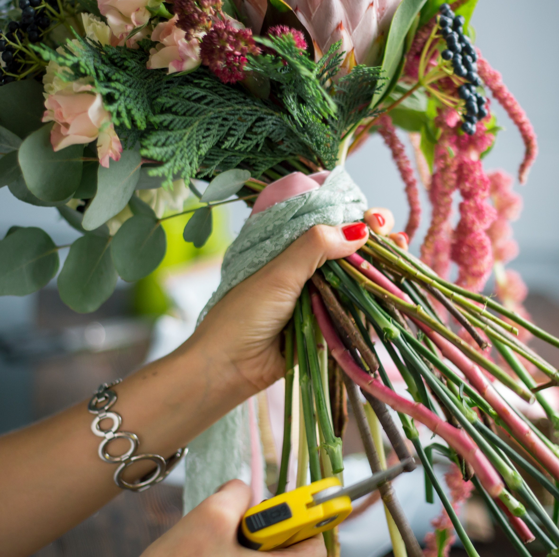 cutting flowers small size